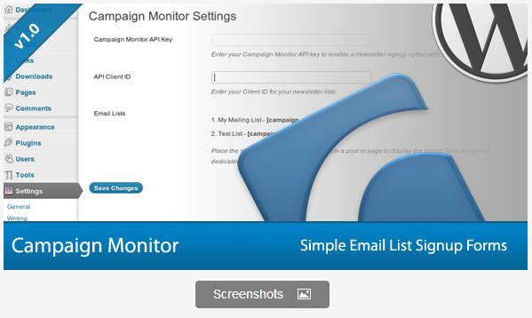 Signup Forms WordPress Plugin
