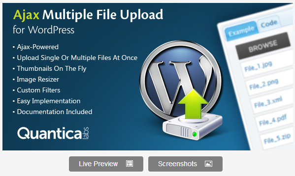Ajax Multiple File Upload