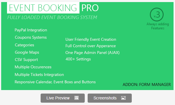 Event Booking Pro Plugins