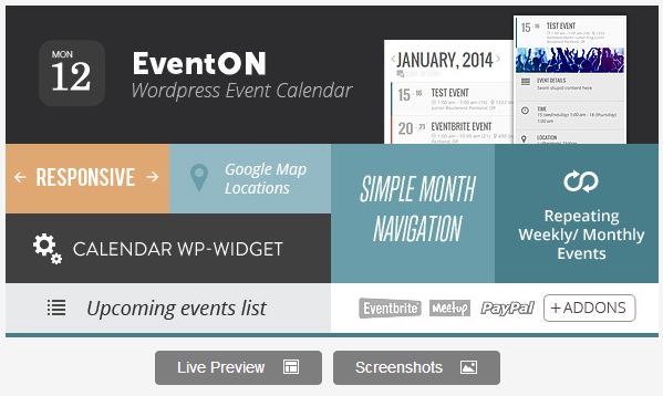9 Best Wordpress Calendar Plugins Wpvirtuoso