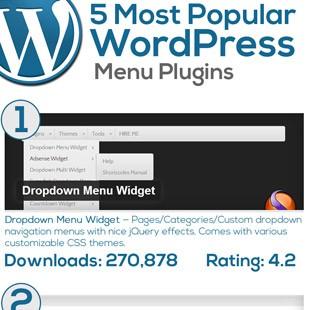 5 Best WordPress Menu Plugins