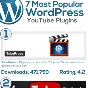 7 Best WordPress YouTube Plugins