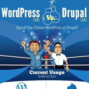 WordPress CMS vs. Drupal CMS