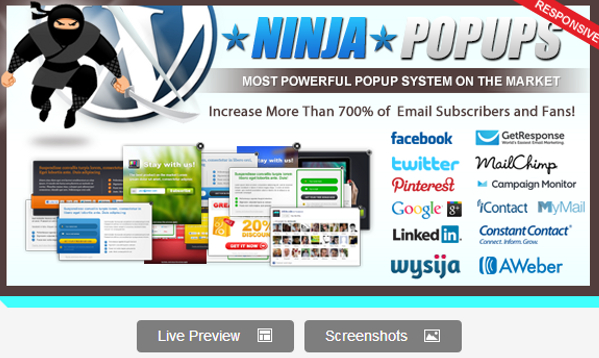 Ninja Popups for WordPress