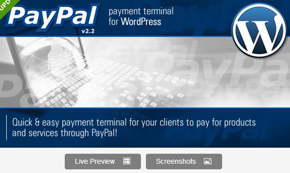 WordPress Premium Paypal Plugin
