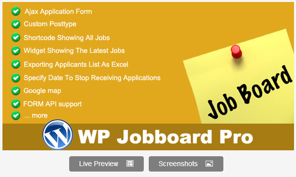 Jobboard Pro WordPress Plugin