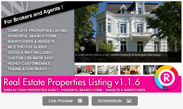 MLS Listing WordPress Plugin