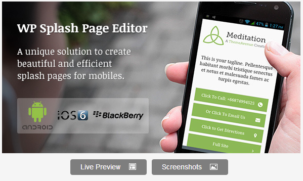 Most-Recommended-WordPress-Premium-Splash-Page-Plugin
