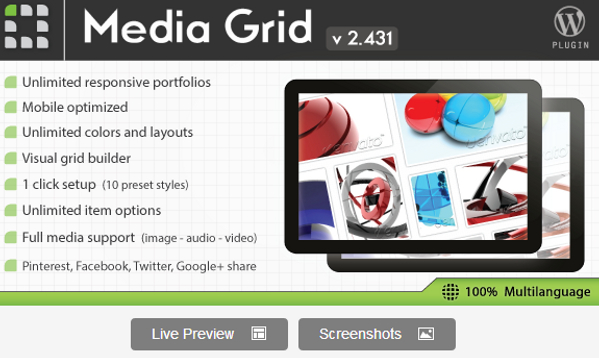 how to change the grid in wordpress
