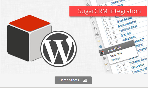 WordPress SugarCRM Integration Plugin
