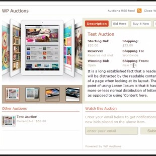 4 Best Free WordPress Auction Plugins