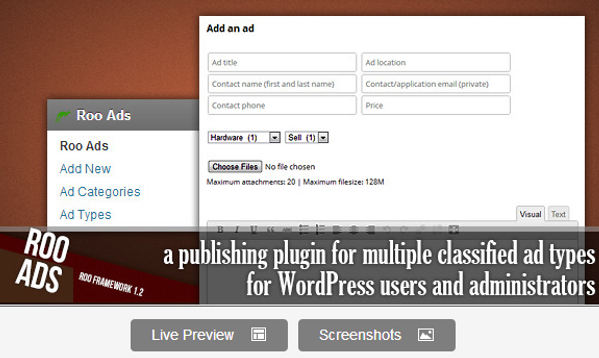 Premium Classifieds WordPress Plugin