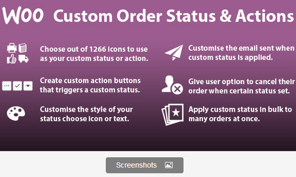 WooCommerce Custom Order Status Plugin