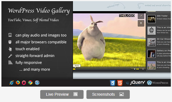 Video Plugin WordPress Plugin