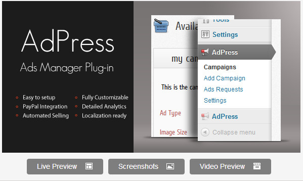 AdPress - WordPress Ad Manager