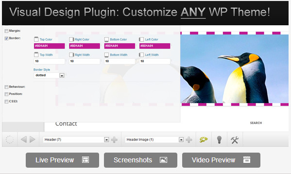 Microthemer - WordPress Visual Design CSS Plugin