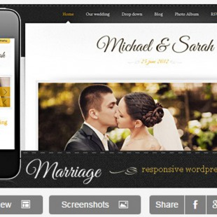 The 4 Best Wedding WordPress Themes