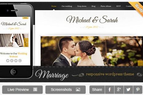 The 4 Best Wedding WordPress Themes