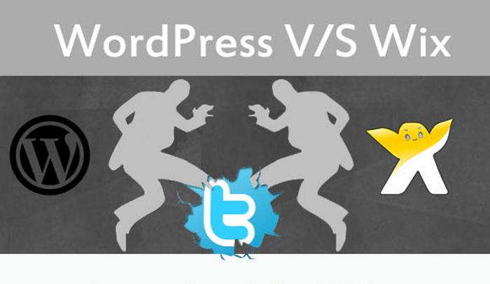 Wordpress Wix Comparison